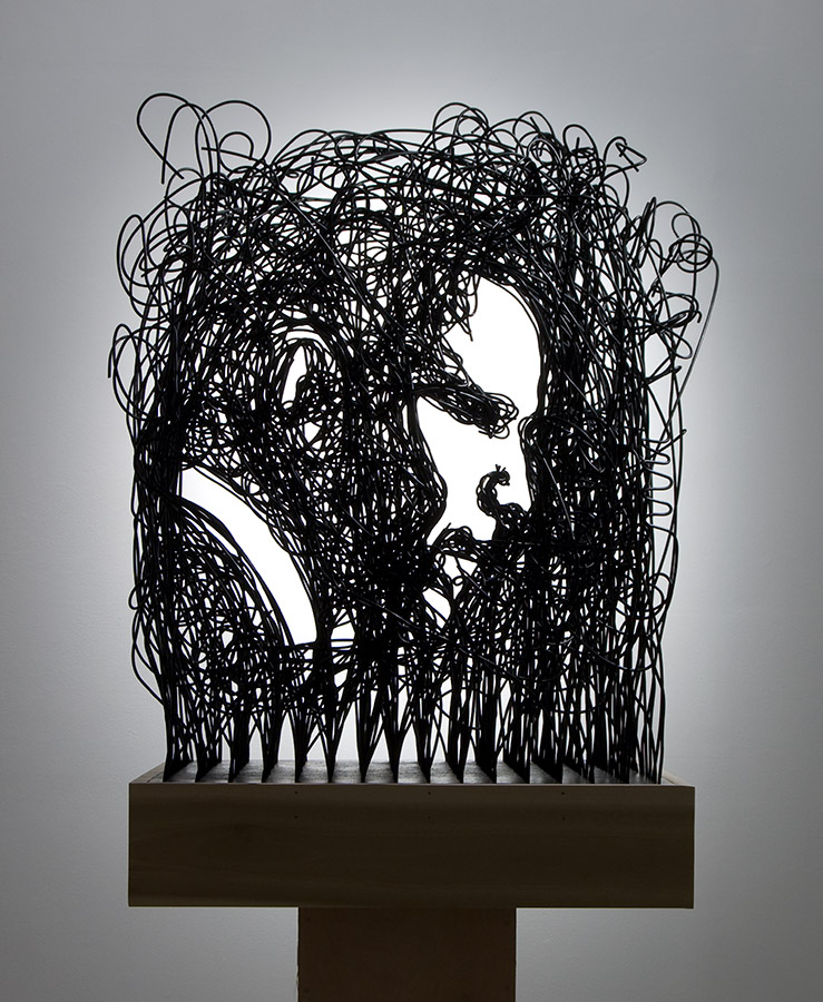 Obama Wire Portrait